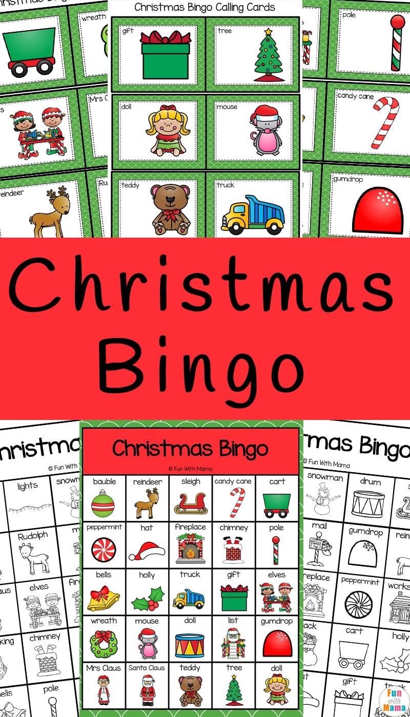 Christmas Bingo Game- Holiday Fun! 60 Bingo Cards ... |Christmas Bingo Questions Funny