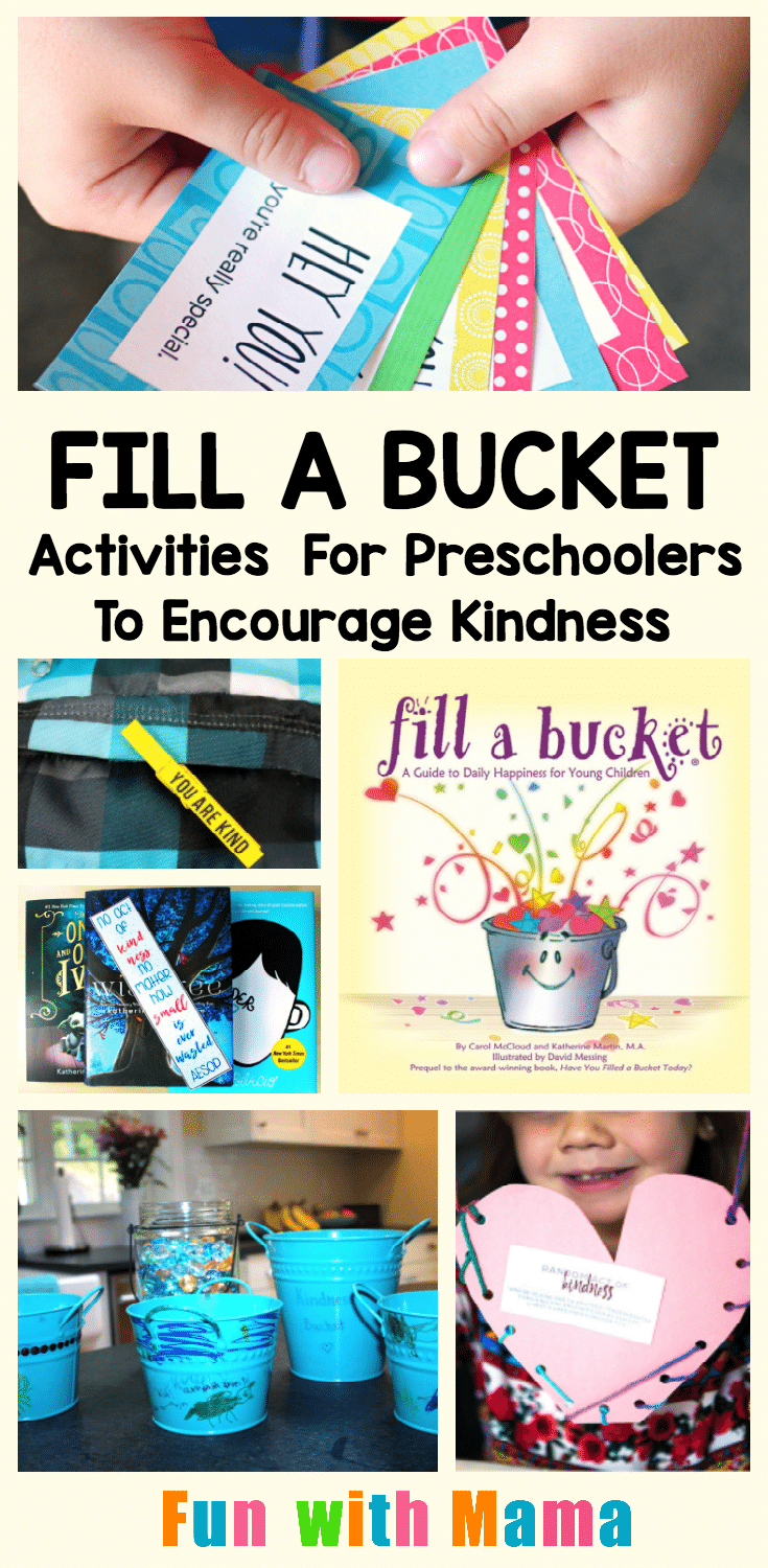 Bucket Filler Activities For Preschoolers To Encourage