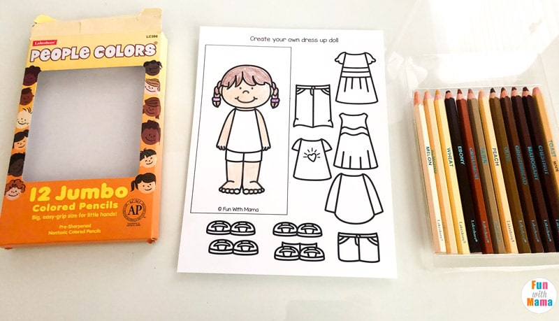 art worksheets for kids