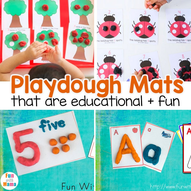 playdough mats