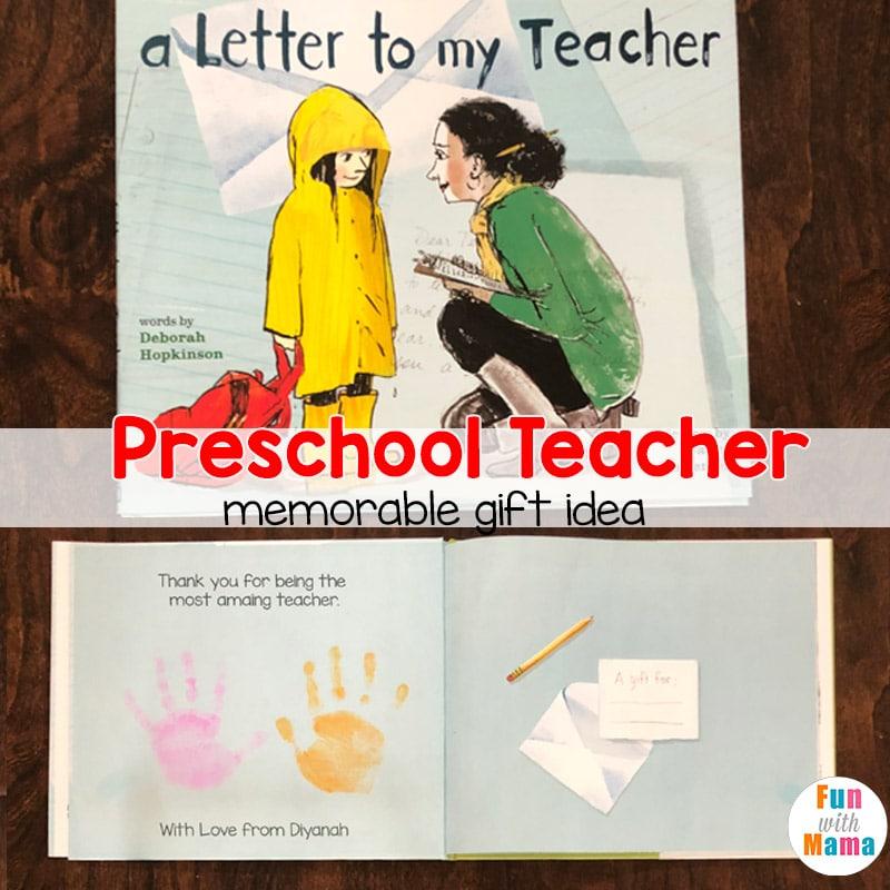 preschool teacher gift idea