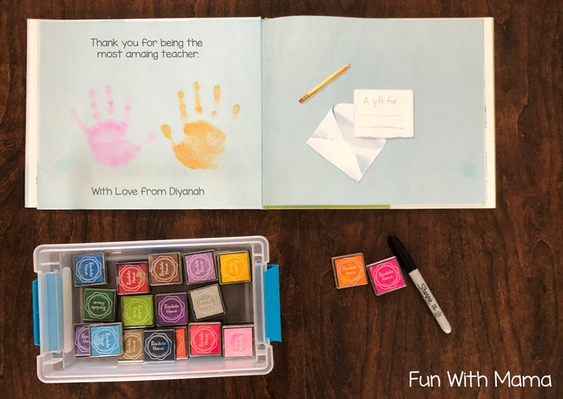 Preschool Teacher Gift Idea Fun With Mama