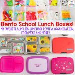 Best School Lunch Box + Bento Boxes For Kids