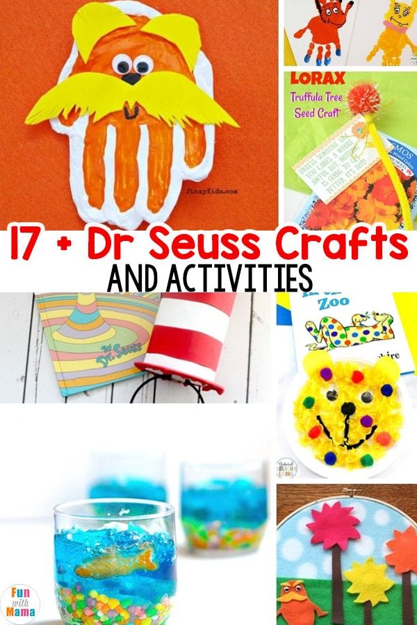 photograph relating to Truffula Seeds Printable referred to as 17+ Dr Seuss Crafts for Young children - Enjoyment with Mama