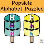 Popsicle Puzzle Set