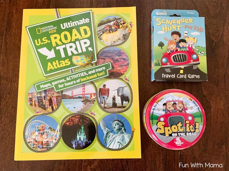road trip activities