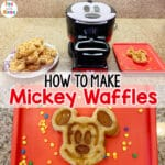 Mickey Mouse Waffle Maker to the rescue!