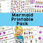 Mermaid Activities Pack