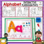 Alphabet Playdough Mats – Interactive