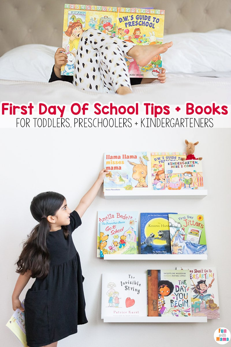 First Day Of School Activities, Tips + Books To Prepare Your