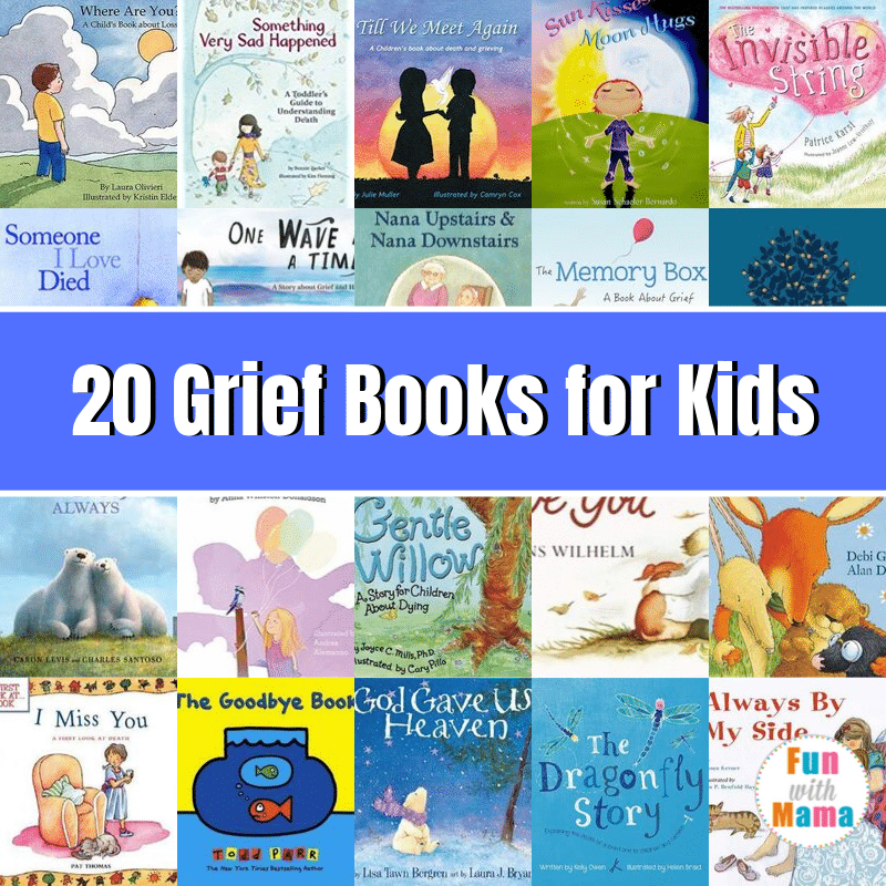 grief books for kids