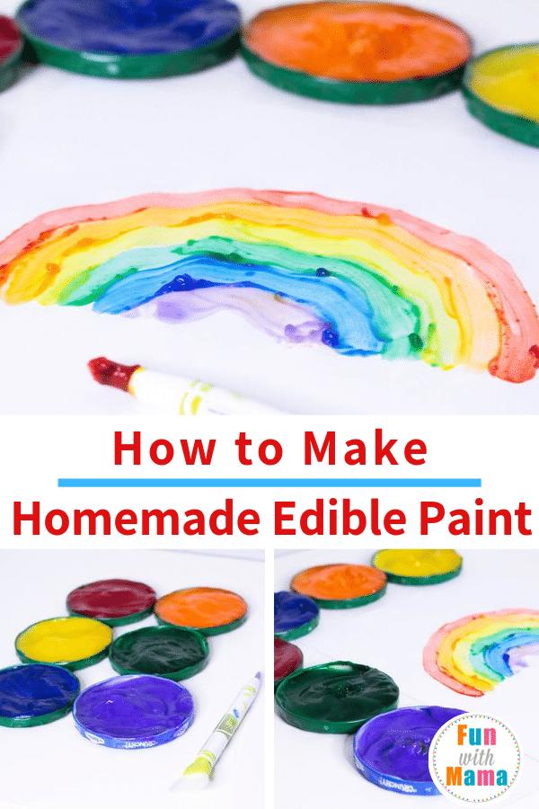 edible paint recipe