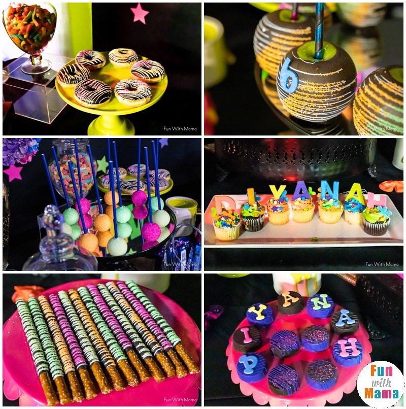 neon party food ideas
