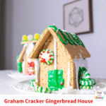 Making Gingerbread Houses With Kids Using Graham Crackers