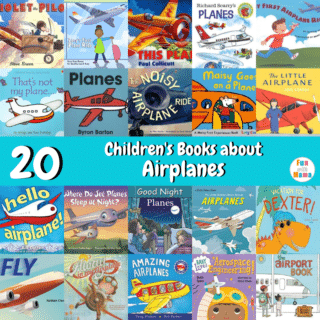 20 Children's Books about Airplanes social