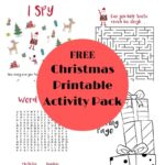 Christmas Printable Activity Packet for Kids