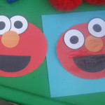 Elmo cut and paste activity + printable!